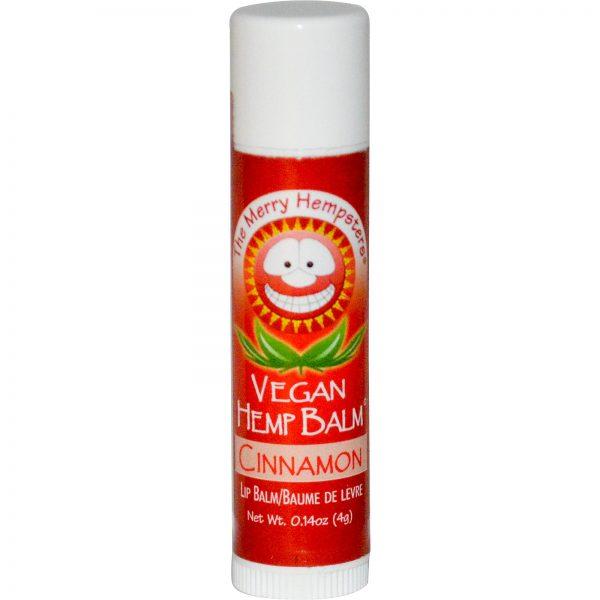 שפתון המפ טבעוני נגד יובש בטעם קינמון