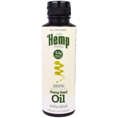 Just Hemp Foods, Hemp Seed Oil, Cold Pressed, 8.45 fl oz (250 ml)