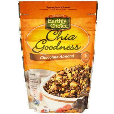 דגני בוקר צ'יה שוקולד שקדים