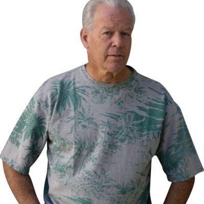 חולצת טישרט הוואי טרופי המפ לגברים