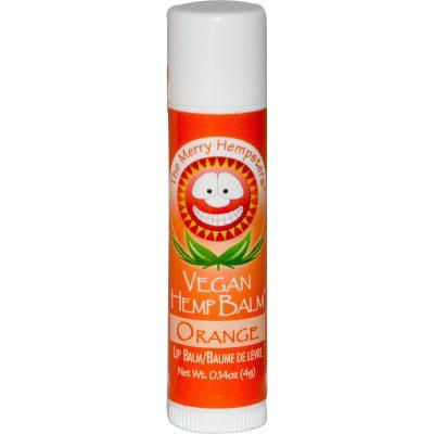 שפתון המפ טבעוני נגד יובש בטעם תפוז