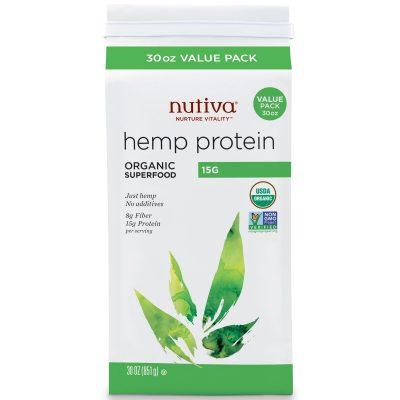 חלבון פרוטאין המפ נוטיבה 851 גרם Nutiva