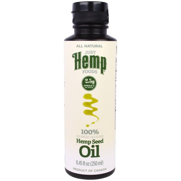 Just Hemp Foods, Hemp Seed Oil, Cold Pressed, 8.45 fl oz (250 ml)